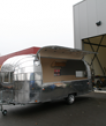 Airstream Flying Cloud met verkoopklep